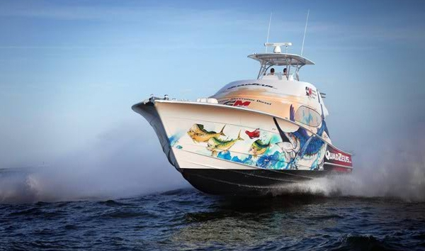 Boat Graphics Boat Wraps Cranky Creative
